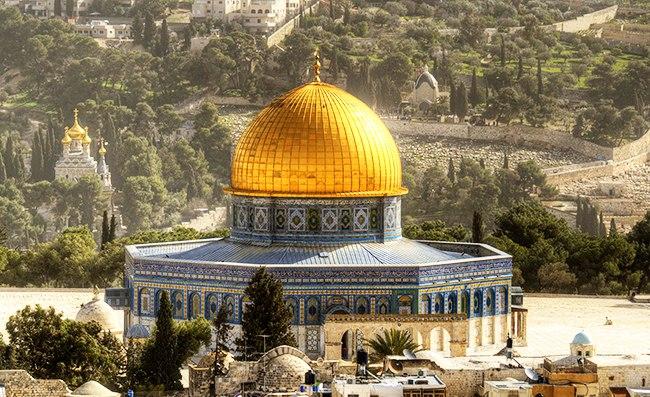 Золотые купола в Израиле