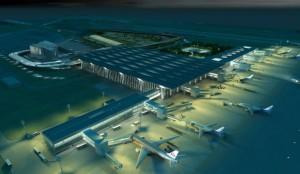 Аэропорт с воздуха