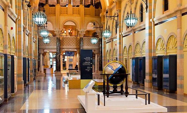 Холл в музее