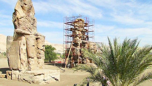 Реставрация статуи