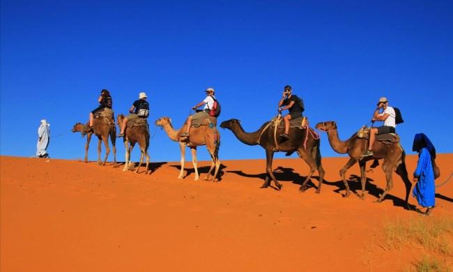 Поездка в пустыню