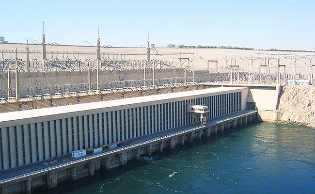 Электростанция на воде
