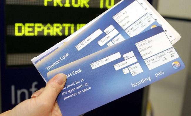 Билеты в руке