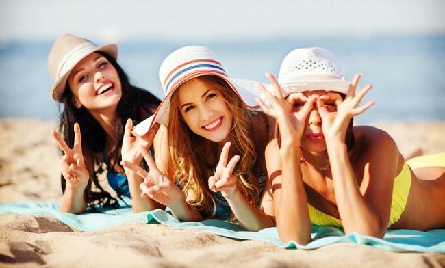 Пляжные головные уборы