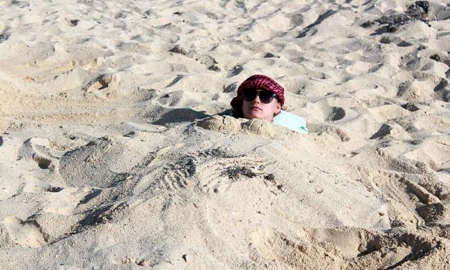 Лечебный песок
