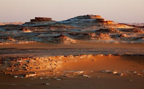 Закат над плато