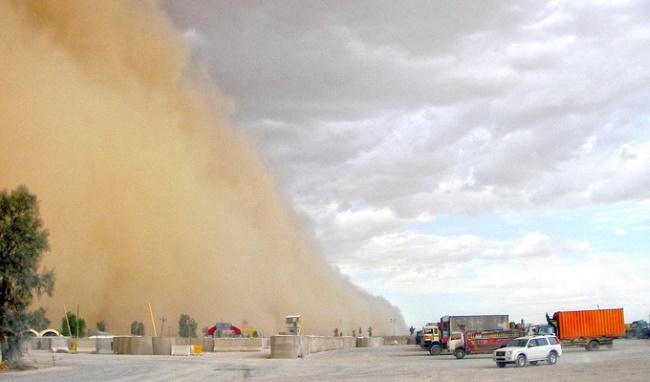 Бывают ли песчаные бури в дубае