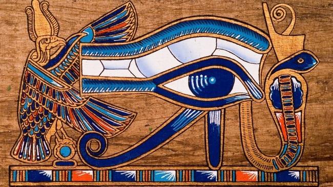 Иероглиф глаз