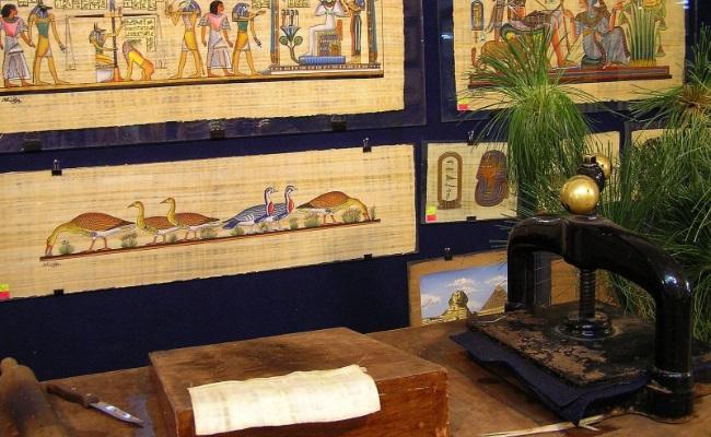 Производство папирусов